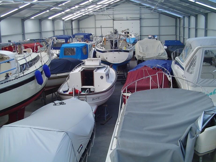 In Aalsmeer een perfecte stalling voor onze boot