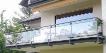 Plexiglas voor het balkon